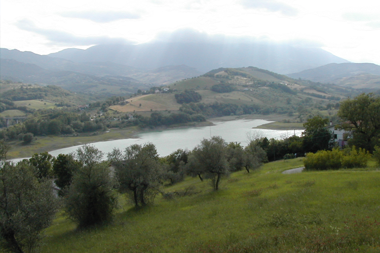 Lake of Penne (Province of Pescara)